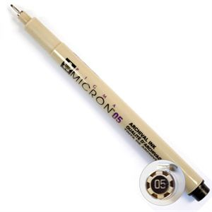 Picture of Black Micron Pen
