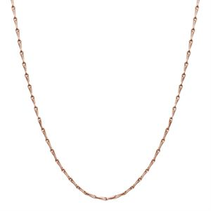 Picture of Rose Gold Elongated Cable Chain - 28""