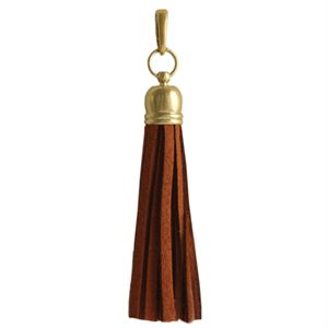Picture of Cognac Leather Tassel