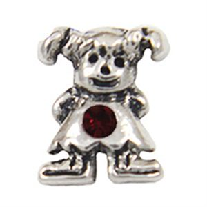 Picture of January Girl Birthstone Charm