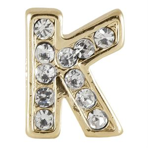 Picture of Gold 'K' Charm