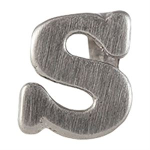 Picture of Silver 'S' Slider Charm