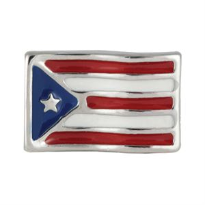 Picture of Puerto Rican Flag Charm