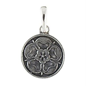 Picture of Silver Tudor Rose Droplet