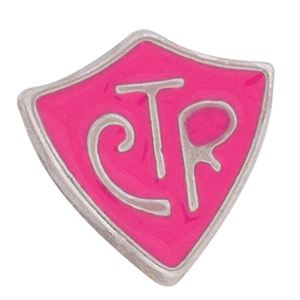 "Picture of Pink ""CTR"" Charm"
