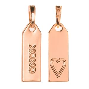 Picture of 'XOXO' Rose Gold Droplet