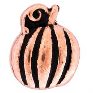 Picture of Rose Gold Pumpkin Charm