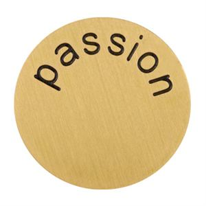 Picture of 'Passion' Large Gold Coin