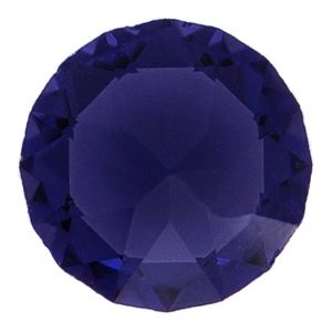 Picture of Purple Velvet Crystal Charm