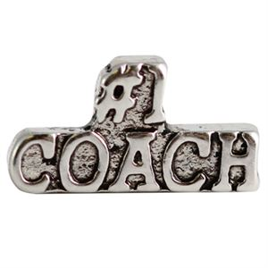 Picture of 'Number One Coach' Charm