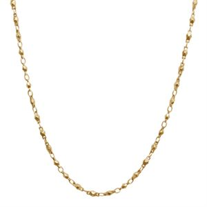 Picture of Nickel-Safe Gold Multifaceted Link Chain - 28""