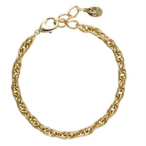 Picture of Gold Textured Rope Bracelet