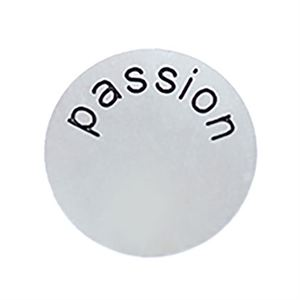 Picture of 'Passion' Medium Silver Coin